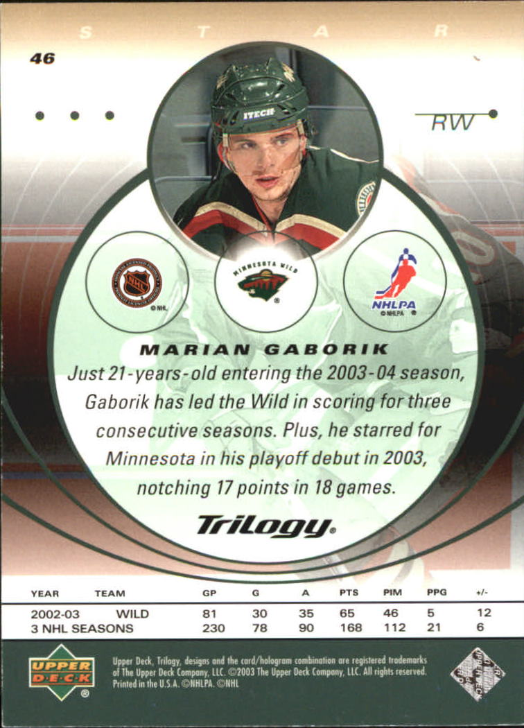 2003-04-Upper-Deck-Trilogy-Hockey-Cards-Pick-From-List thumbnail 73