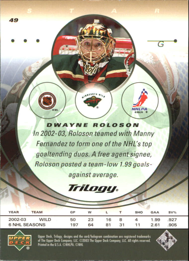 2003-04-Upper-Deck-Trilogy-Hockey-Cards-Pick-From-List thumbnail 79