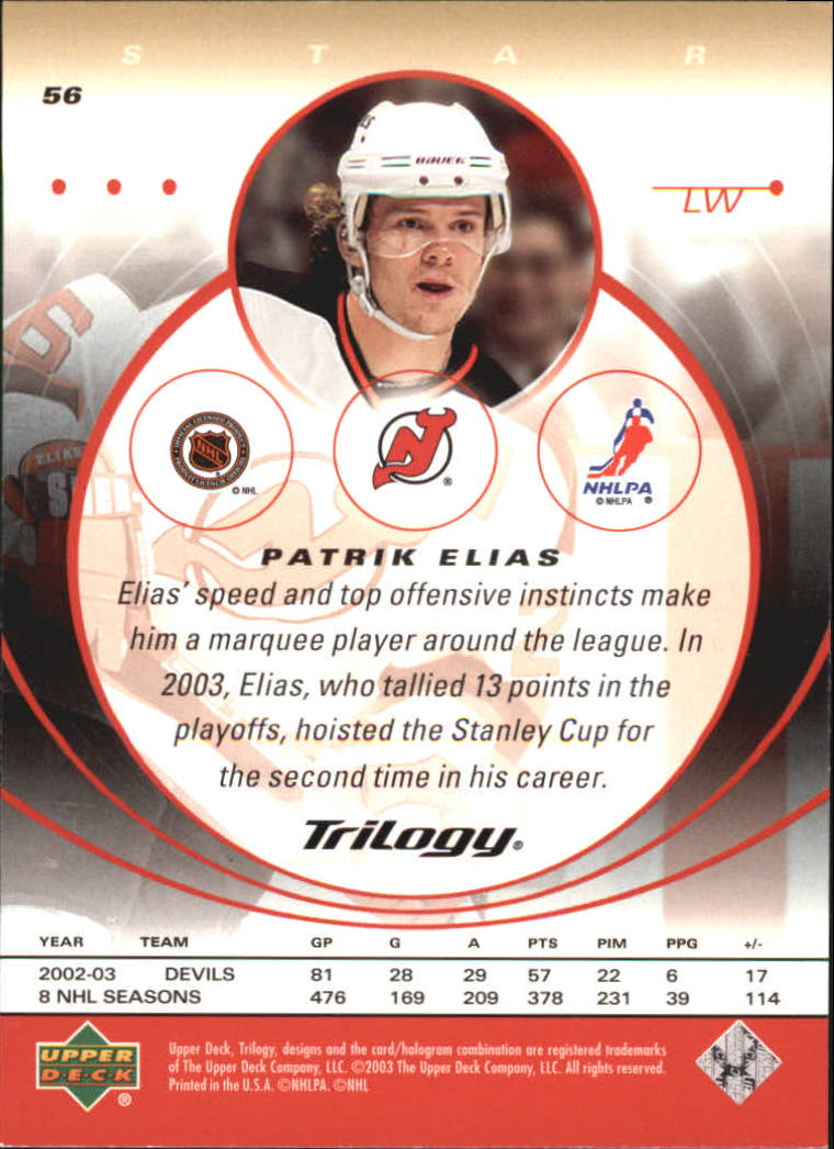 2003-04-Upper-Deck-Trilogy-Hockey-Cards-Pick-From-List thumbnail 87