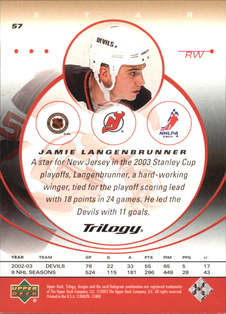 2003-04-Upper-Deck-Trilogy-Hockey-Cards-Pick-From-List thumbnail 89