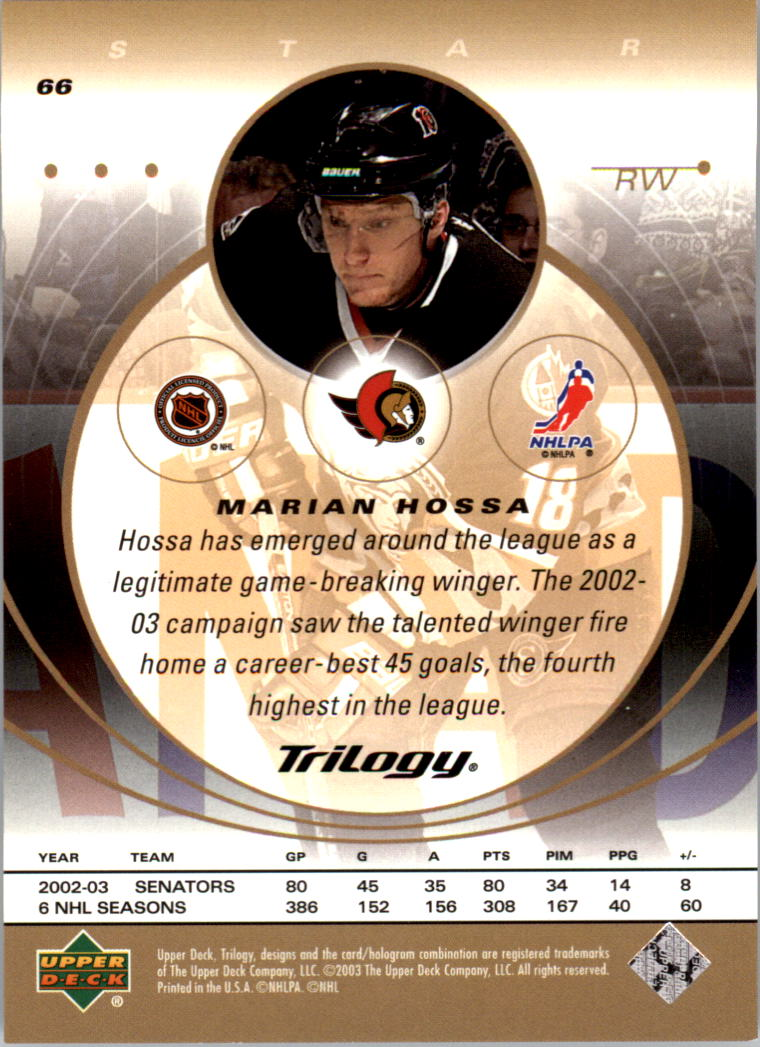 2003-04-Upper-Deck-Trilogy-Hockey-Cards-Pick-From-List thumbnail 101