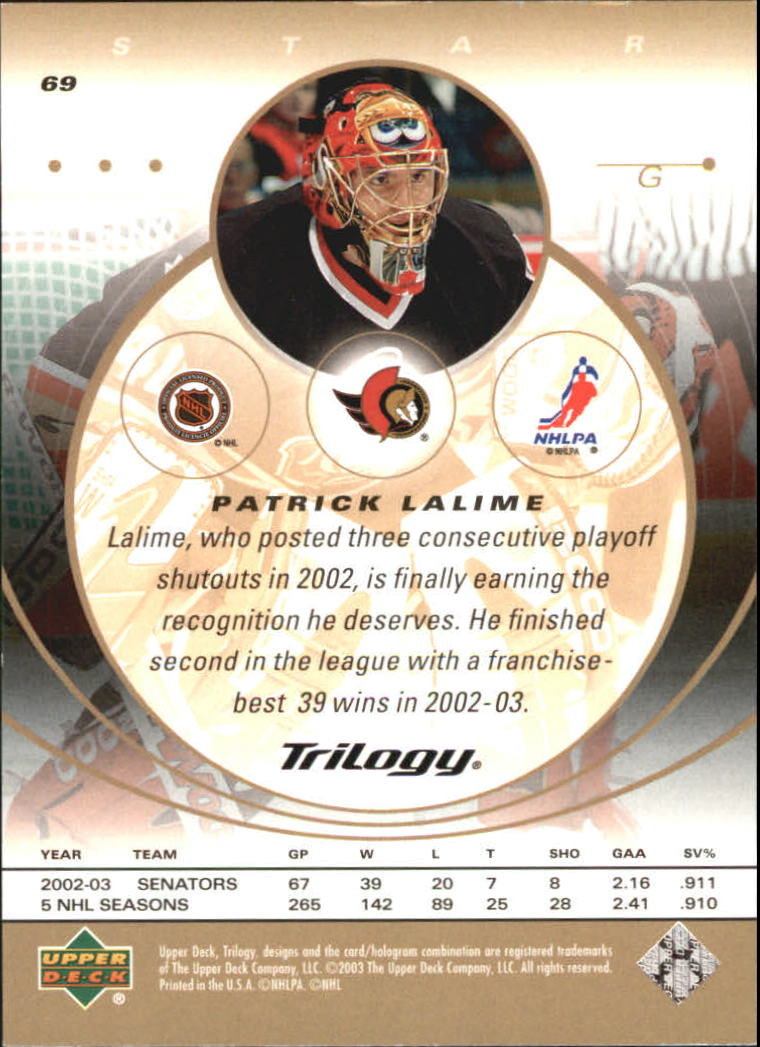 2003-04-Upper-Deck-Trilogy-Hockey-Cards-Pick-From-List thumbnail 105