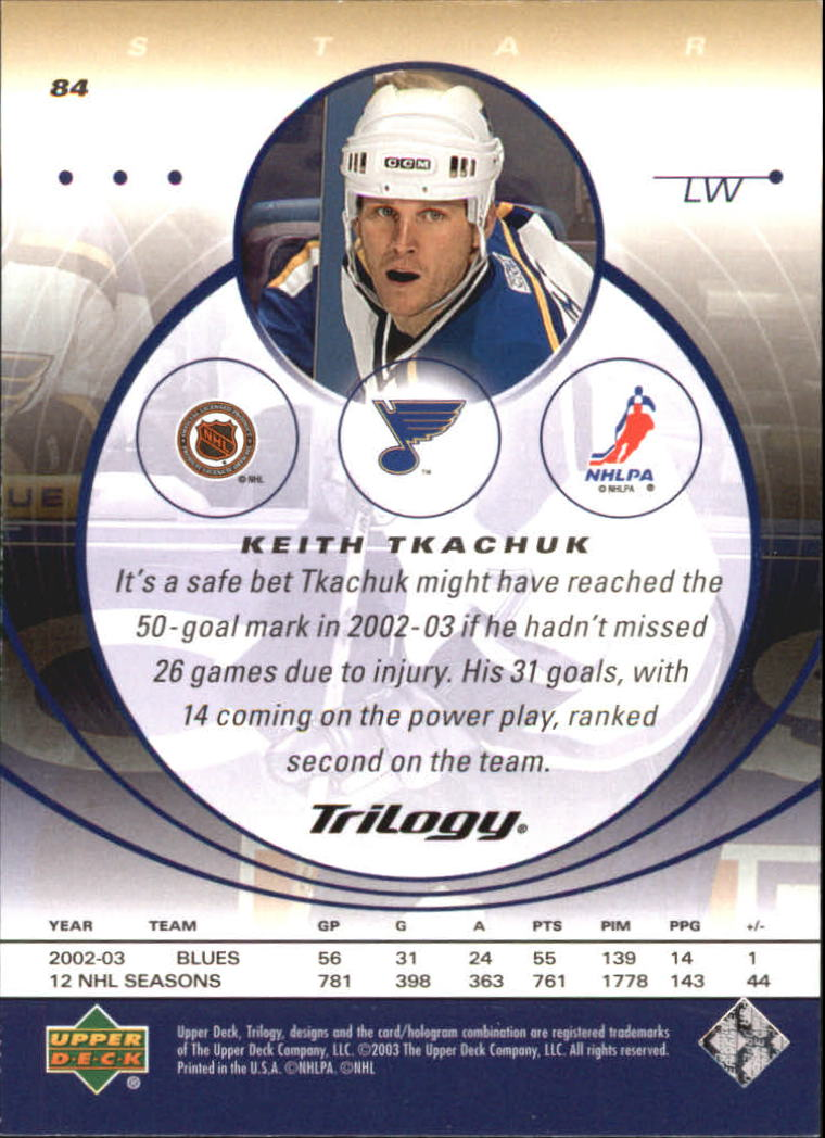 2003-04-Upper-Deck-Trilogy-Hockey-Cards-Pick-From-List thumbnail 129