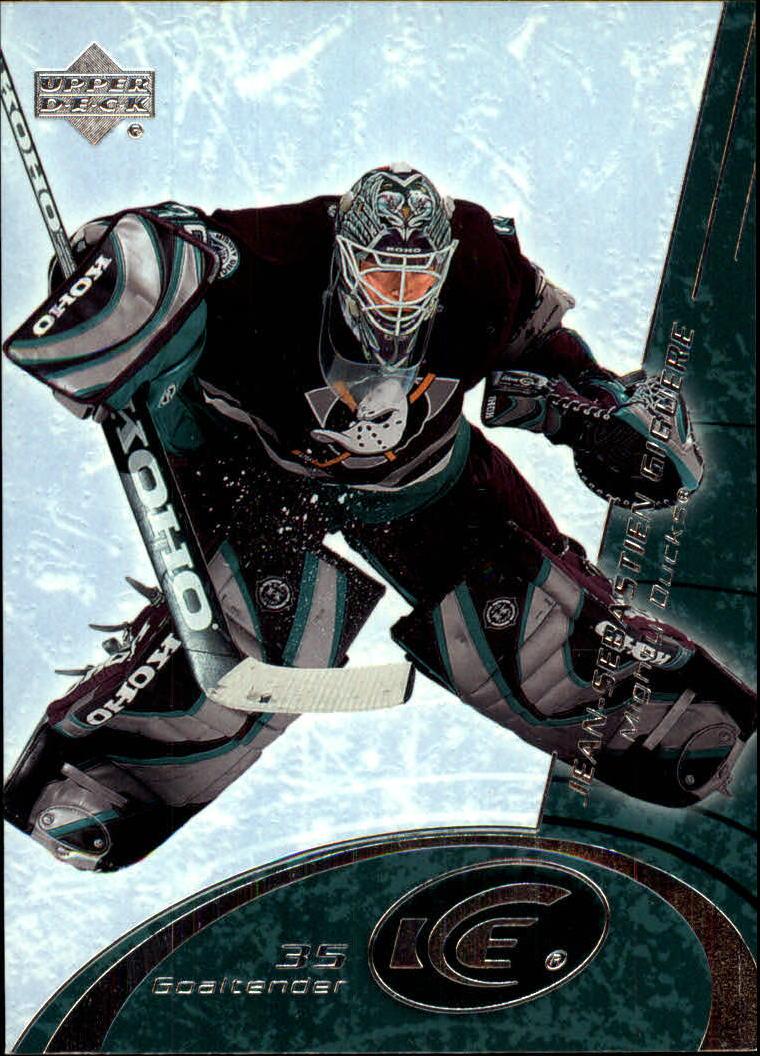 2003-04 Upper Deck Ice #3 Jean-Sebastien Giguere