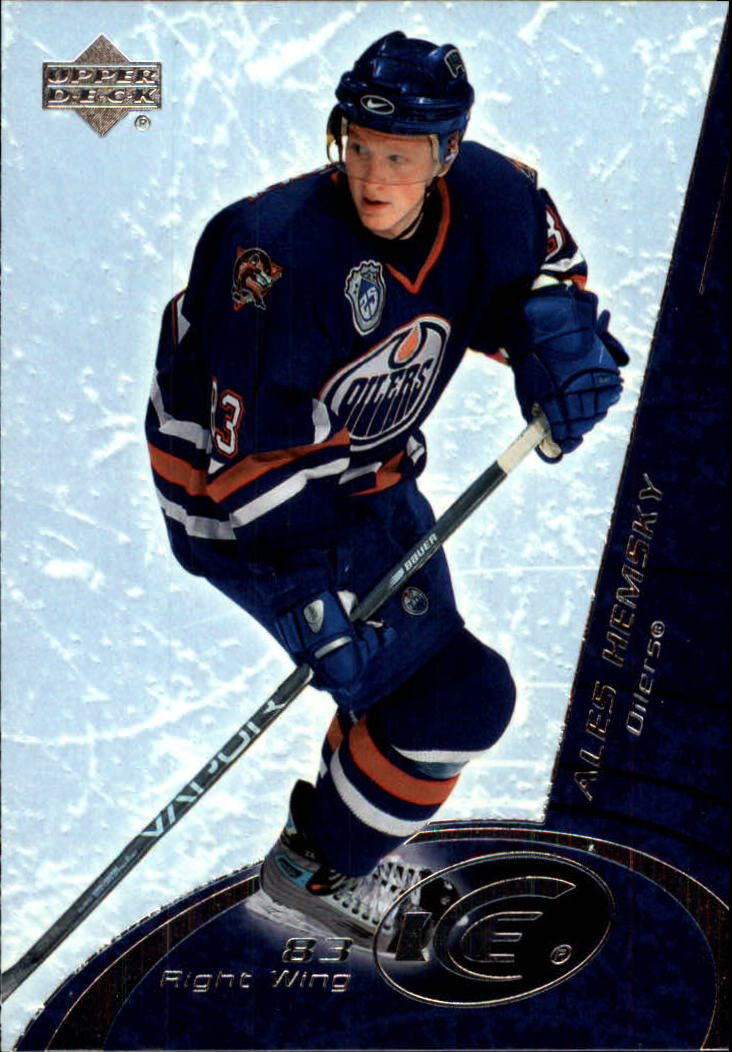 2003-04 Upper Deck Ice #36 Ales Hemsky