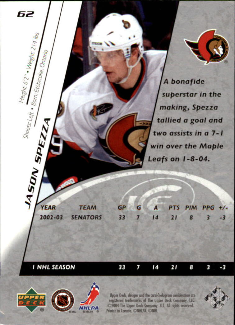 2003-04-Upper-Deck-Hockey-Ice-Inserts-You-Pick-Buy-10-cards-FREE-SHIP