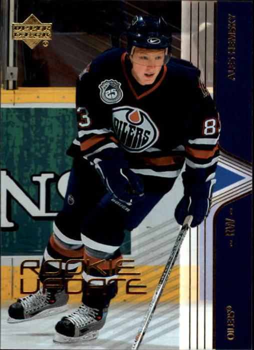 2003-04 Upper Deck Rookie Update #36 Ales Hemsky