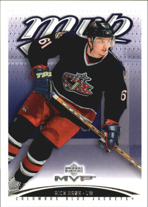 2003-04 Upper Deck MVP #120 Rick Nash