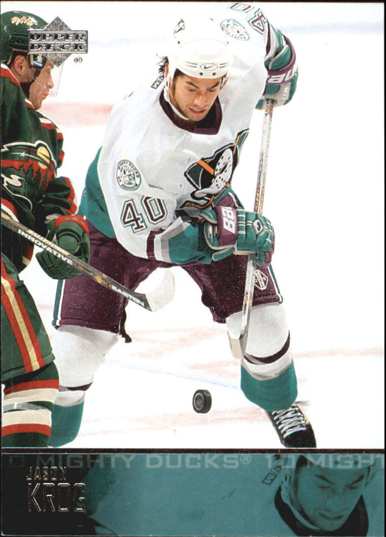2003-04 Upper Deck #4 Jason Krog