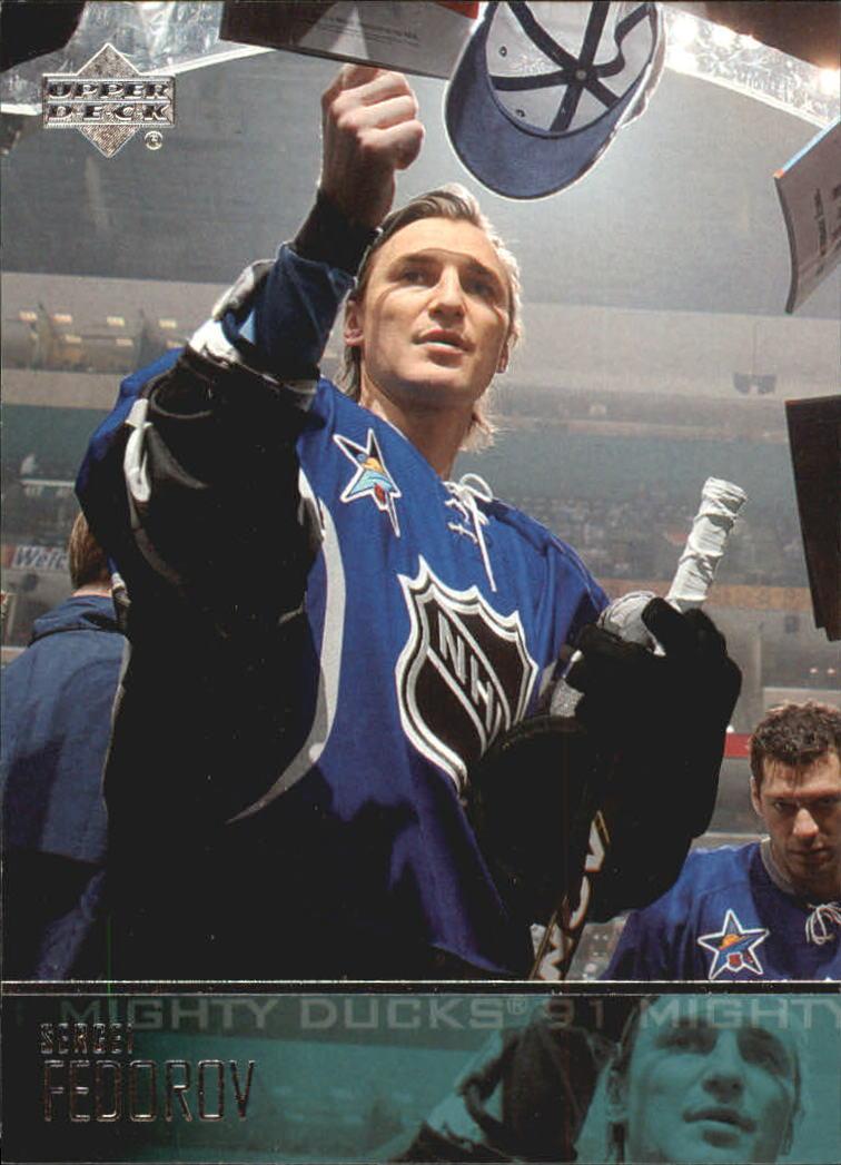 2003-04 Upper Deck #5 Sergei Fedorov
