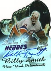 2003-04 Topps Stanley Cup Heroes Autographs #BS Billy Smith