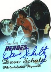2003-04 Topps Stanley Cup Heroes Autographs #DS Dave Schultz