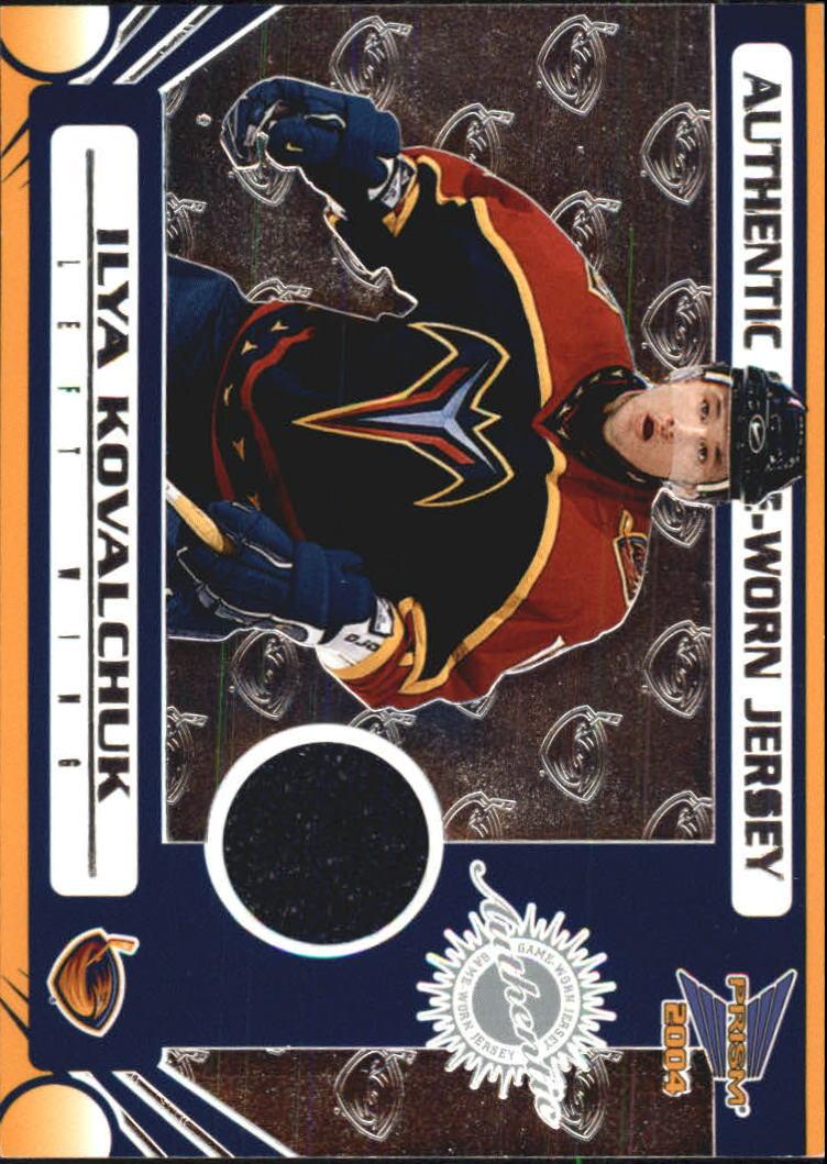 2003-04 Pacific Prism Retail Jerseys #103 Ilya Kovalchuk