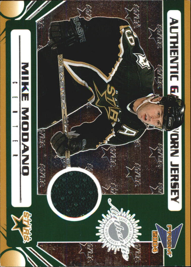 2003-04 Pacific Prism Retail Jerseys #114 Mike Modano