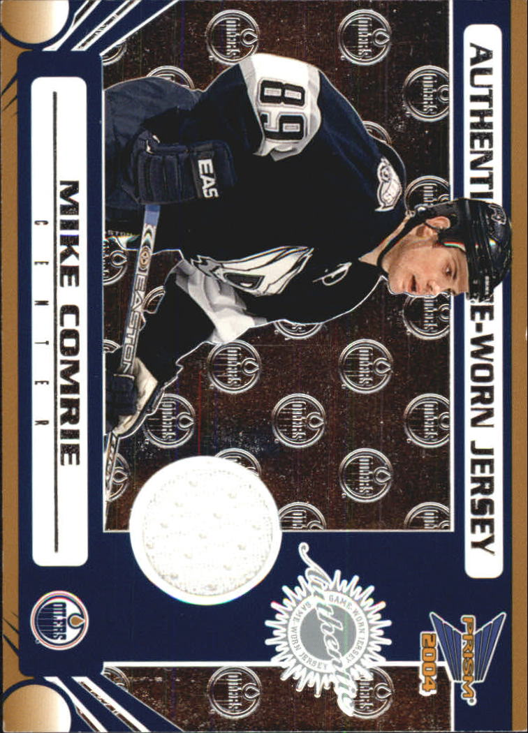 2003-04 Pacific Prism Retail Jerseys #119 Mike Comrie