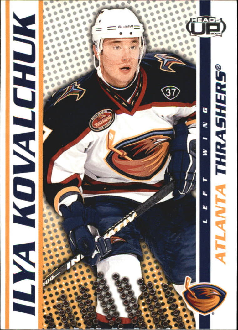 2003-04 Pacific Heads Up #4 Ilya Kovalchuk