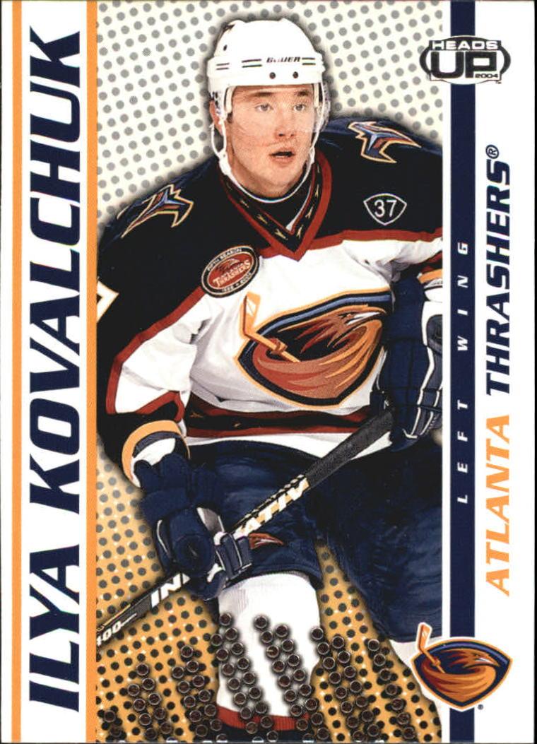 2003-04 Pacific Heads Up #4 Ilya Kovalchuk