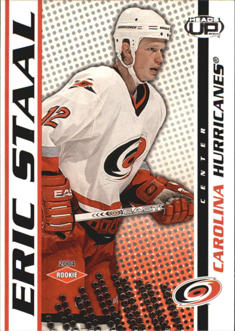 2003-04 Pacific Heads Up #106 Eric Staal RC