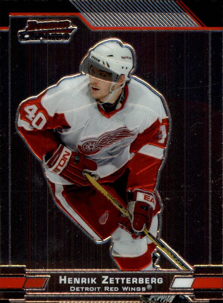 2003-04 Bowman Chrome #20 Henrik Zetterberg