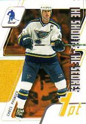 2003-04 BAP Memorabilia He Shoots He Scores Points #3 Chris Pronger 1 Pt.