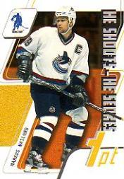 2003-04 BAP Memorabilia He Shoots He Scores Points #4 Markus Naslund 1 Pt.