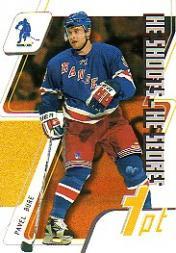 2003-04 BAP Memorabilia He Shoots He Scores Points #8 Pavel Bure 1 Pt.