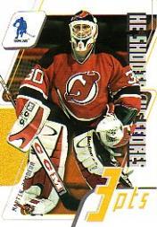 2003-04 BAP Memorabilia He Shoots He Scores Points #20 Martin Brodeur 3 Pts.
