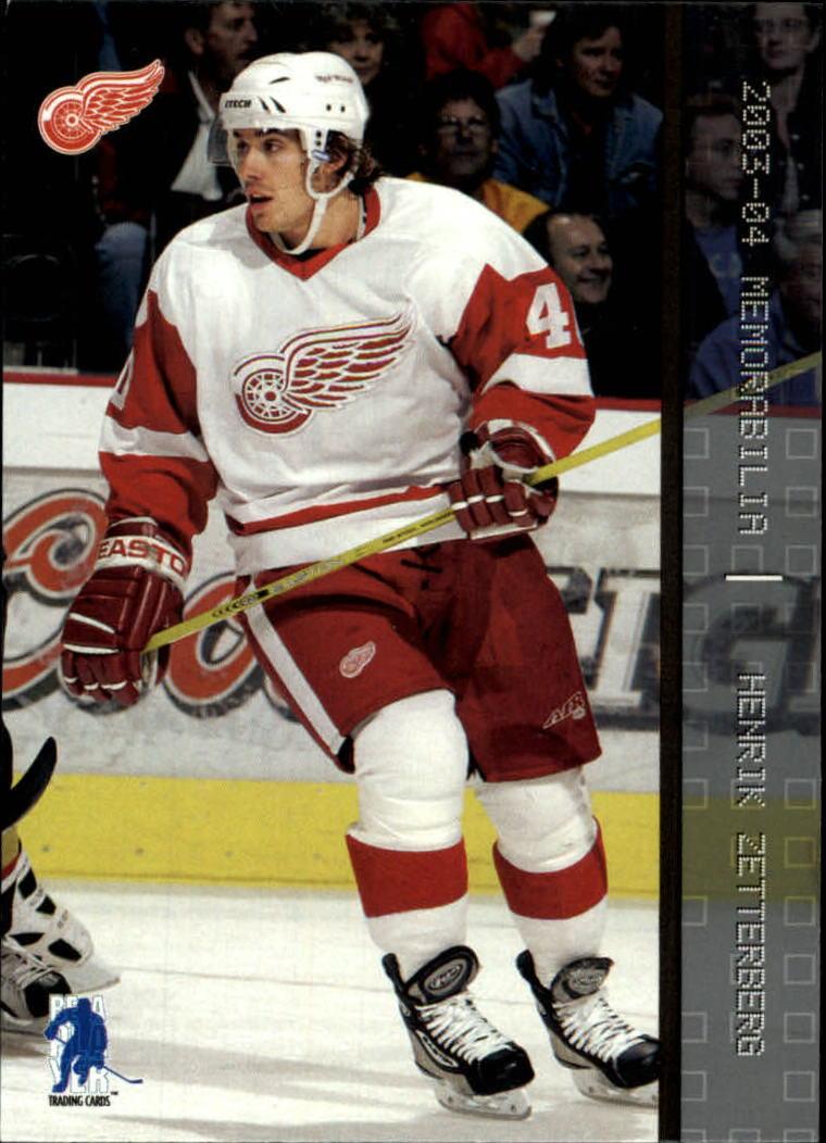2003-04 BAP Memorabilia #30 Henrik Zetterberg