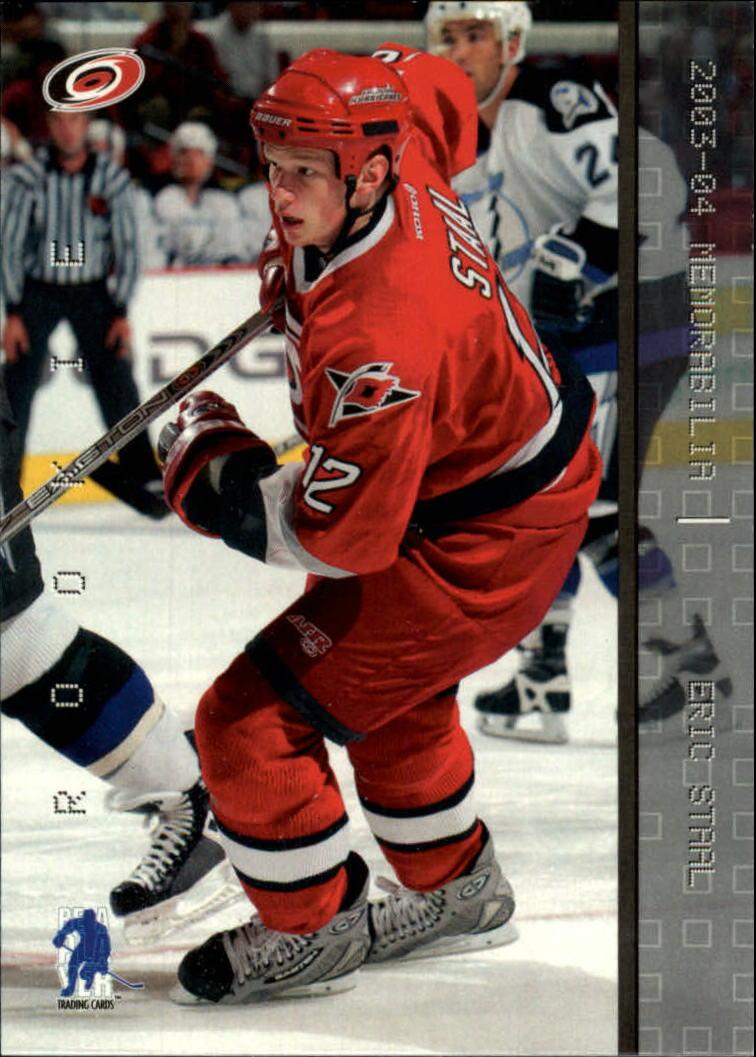 2003-04 BAP Memorabilia #176 Eric Staal RC