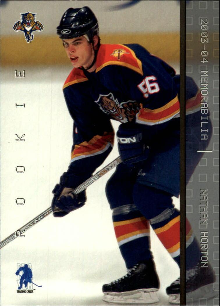 2003-04 BAP Memorabilia #180 Nathan Horton RC