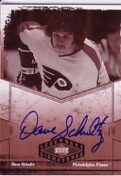 2004-05 UD Legendary Signatures Autographs #HS Dave Schultz