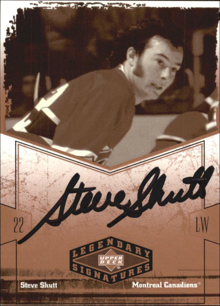 2004-05 UD Legendary Signatures Autographs #SC Steve Shutt