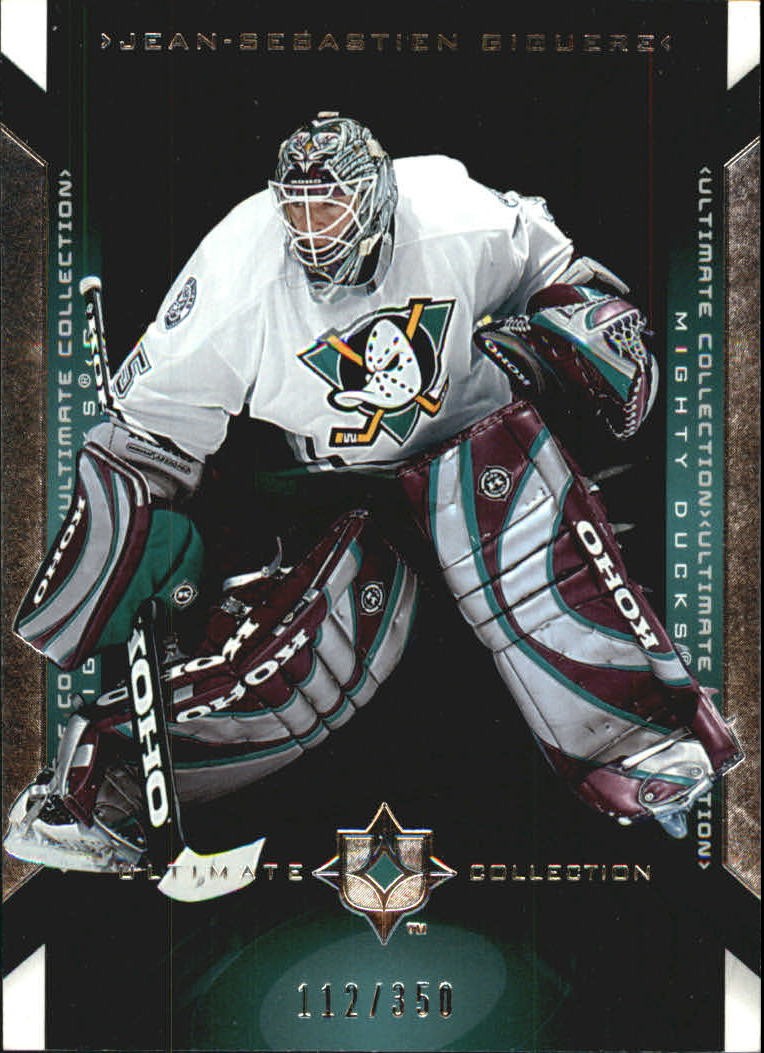 2004-05 Ultimate Collection #1 Jean-Sebastien Giguere