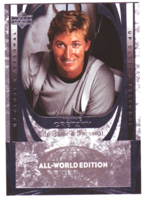 2004-05 UD All-World #91 Wayne Gretzky UCP