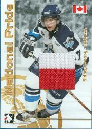 2004-05 ITG Heroes and Prospects National Pride #1 Sidney Crosby