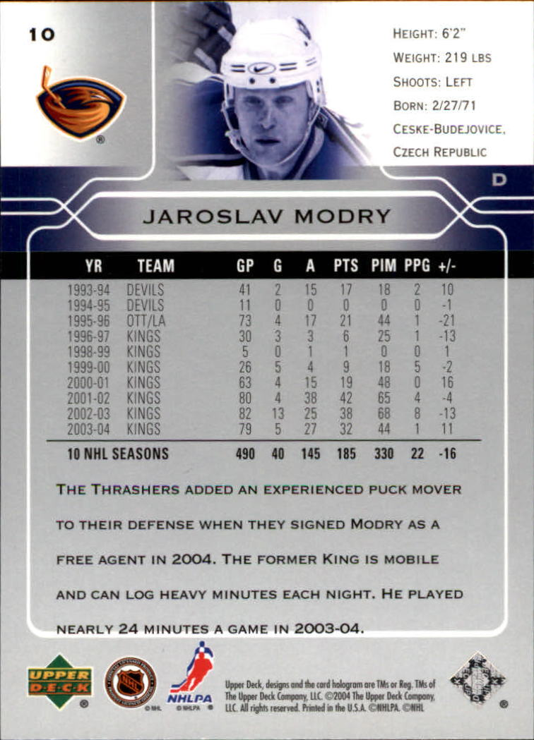 2004-05-Upper-Deck-Hockey-Cards-Pick-From-List thumbnail 21