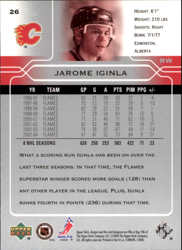 2004-05-Upper-Deck-Hockey-Cards-Pick-From-List thumbnail 49