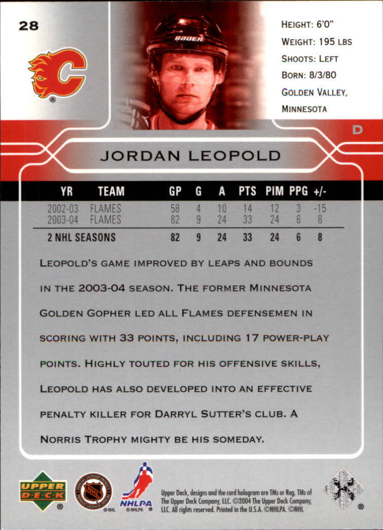2004-05-Upper-Deck-Hockey-Cards-Pick-From-List thumbnail 53