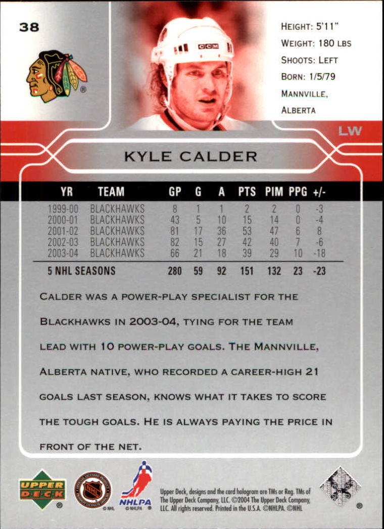2004-05-Upper-Deck-Hockey-Cards-Pick-From-List thumbnail 71
