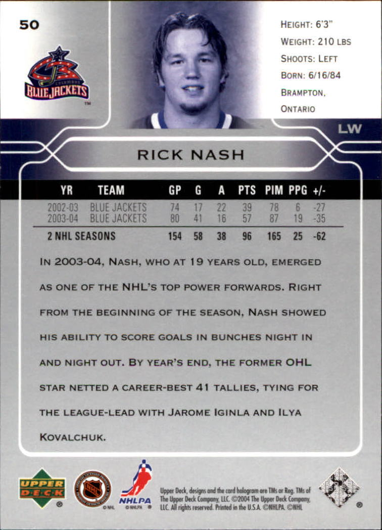2004-05-Upper-Deck-Hockey-Cards-Pick-From-List thumbnail 93