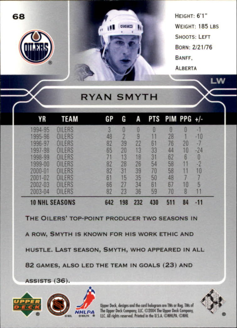 2004-05-Upper-Deck-Hockey-Cards-Pick-From-List thumbnail 127