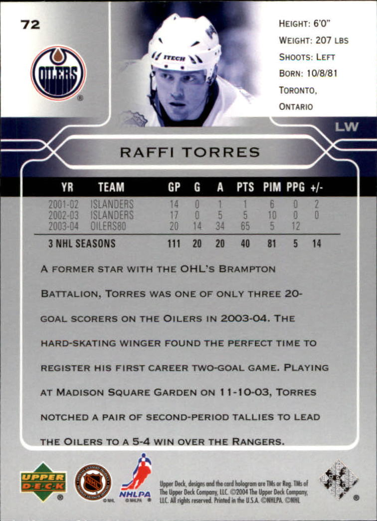 2004-05-Upper-Deck-Hockey-Cards-Pick-From-List thumbnail 135