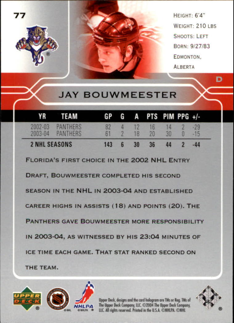 2004-05-Upper-Deck-Hockey-Cards-Pick-From-List thumbnail 145