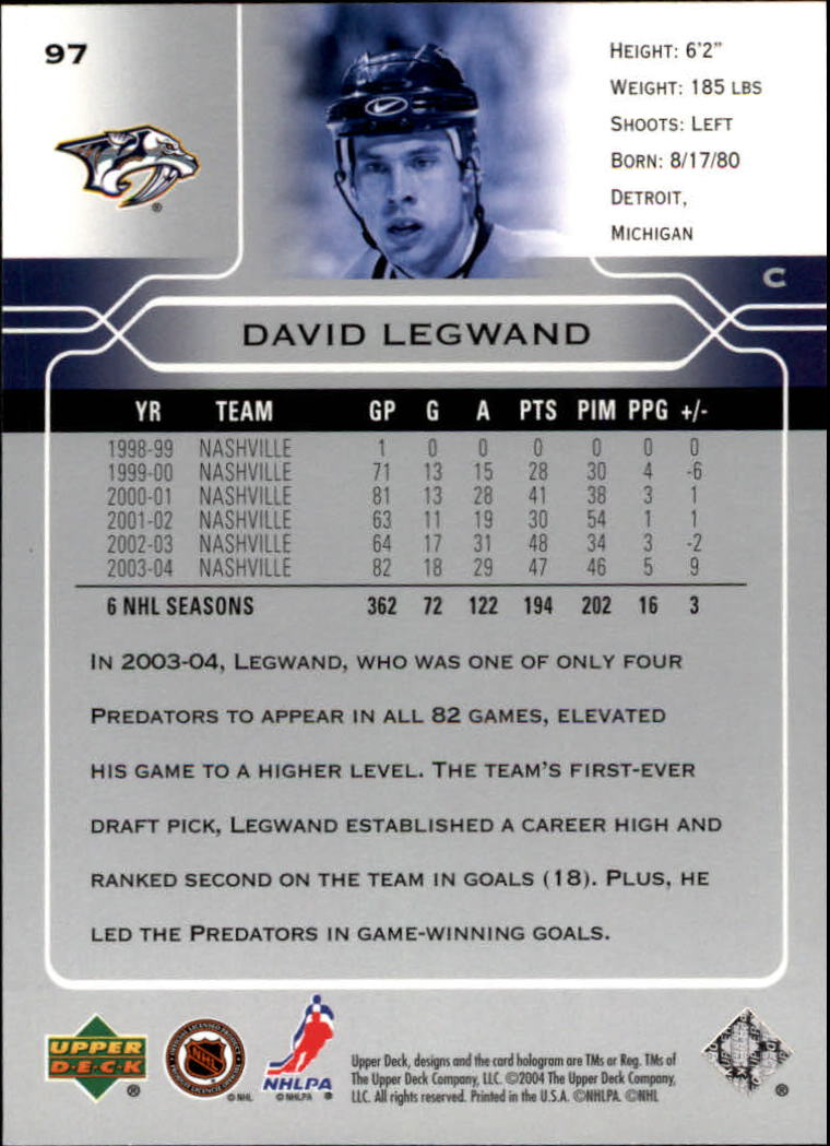 2004-05-Upper-Deck-Hockey-Cards-Pick-From-List thumbnail 181