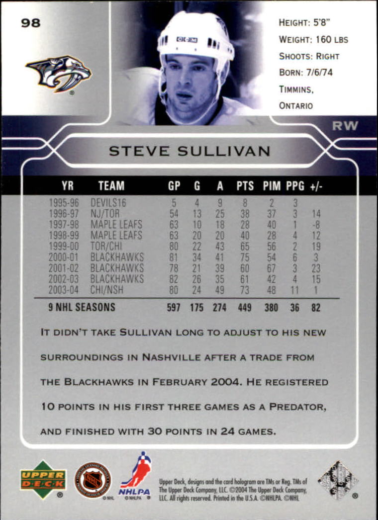 2004-05-Upper-Deck-Hockey-Cards-Pick-From-List thumbnail 183