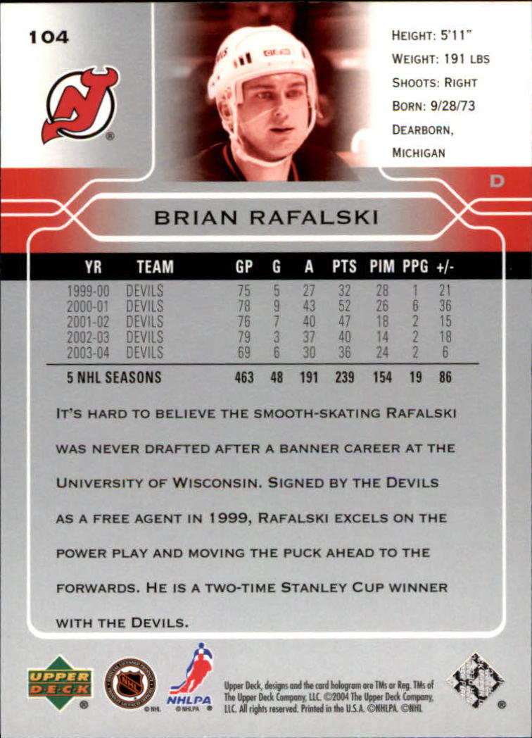 2004-05-Upper-Deck-Hockey-Cards-Pick-From-List thumbnail 193