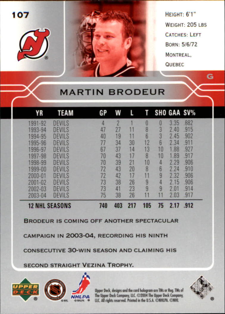 2004-05-Upper-Deck-Hockey-Cards-Pick-From-List thumbnail 199