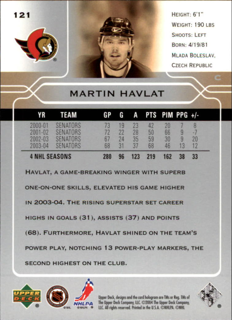 2004-05-Upper-Deck-Hockey-Cards-Pick-From-List thumbnail 225
