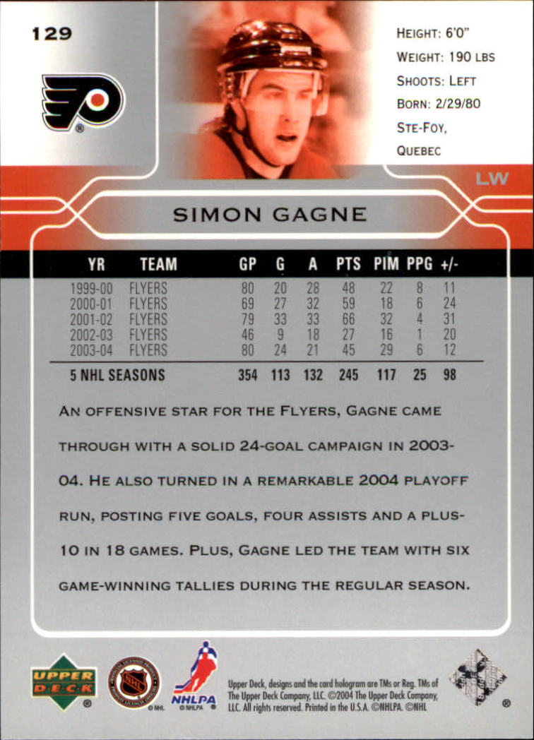 2004-05-Upper-Deck-Hockey-Cards-Pick-From-List thumbnail 239