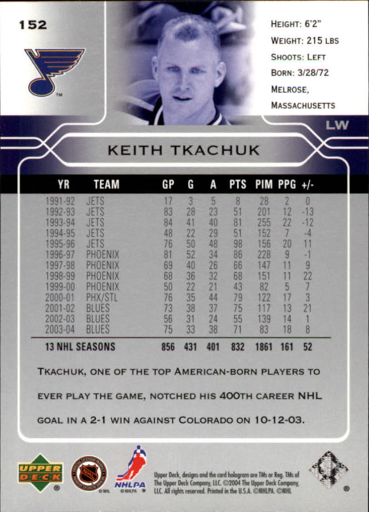 2004-05-Upper-Deck-Hockey-Cards-Pick-From-List thumbnail 277